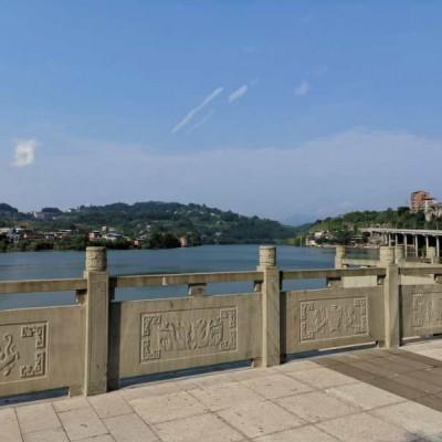 四川青石河道栏杆