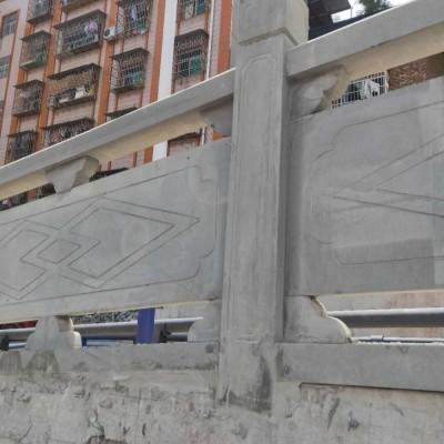 青石栏杆护栏 四川广元城建护栏石材