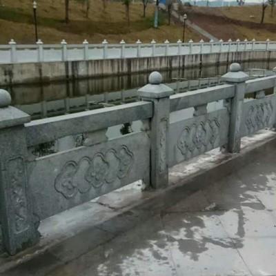 四川青石河栏杆 景观河道护栏