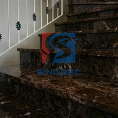 大理石成品批发 别墅石材旋转楼梯异型加工米黄大理石