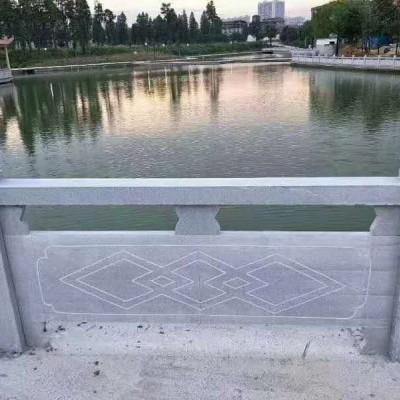 湖南长沙石护栏河道麻石护栏石栏杆桥梁石栏杆寺庙石栏杆