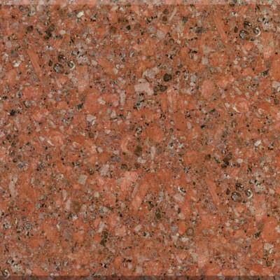 光泽红珍珠红石材