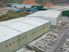 江西菊花黄石材工厂航拍+工厂生产规模