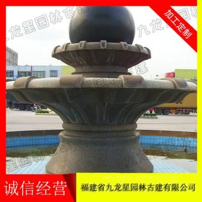 石雕双层风水球 石雕风水球价格 质量好