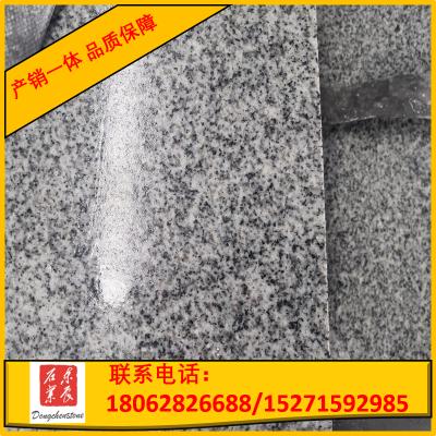 麻城芝麻白G603 花岗岩石材定制批发