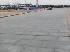 罗田芝麻灰广场地铺案例应用