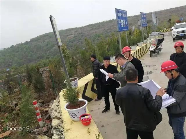 河南省市非煤矿山领域专项检查工作组到内乡县检查指导工作