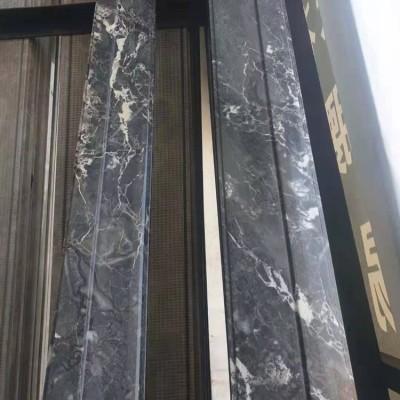 新中式线条罗曼蒂克灰高级灰现代灰石材装修