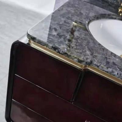 石材高端家居定制 奢石洗手台台面