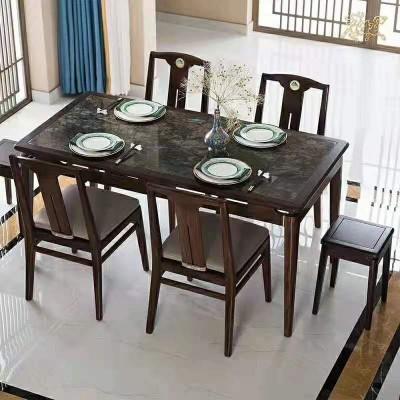 石与木餐桌(奢石桌面)