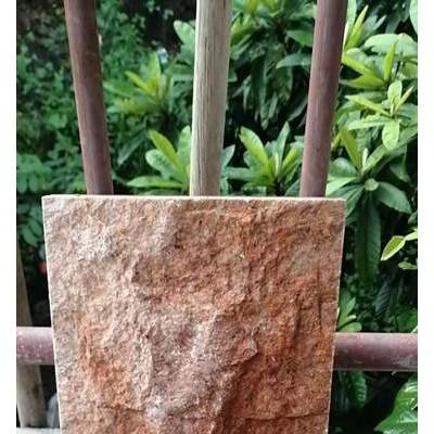 映山红蘑菇石