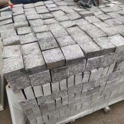 马蹄石小方块 湖南芝麻灰矿山厂家供应