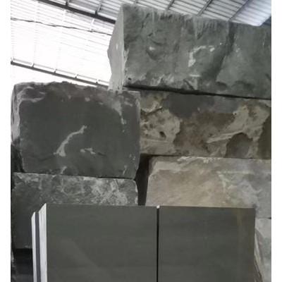 达州青石荒料碑石料栏板雕刻料